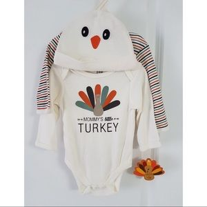 0-3 months thanksgiving outfit